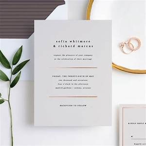 less is more wedding invitations paper culture With wedding invitations you can plant