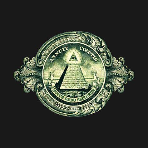 one eye illuminati one dollar bill note all seeing eye illuminati great seal