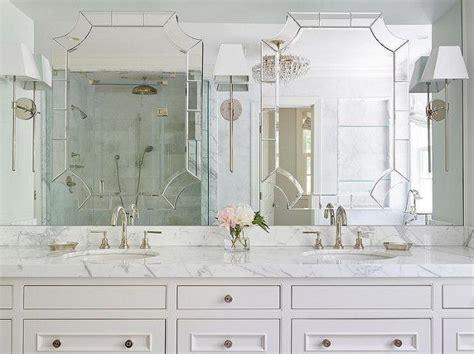 Bathroom Mirror Sconces by Clever Mirror Framed Mirror Built Into Mirror Vanity