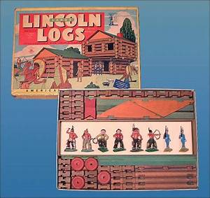 Lincoln Logs - This set was originally priced at 3.49 in ...
