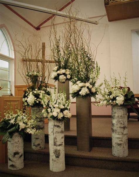 Village Vines Blog : Behind the Scenes Church flowers