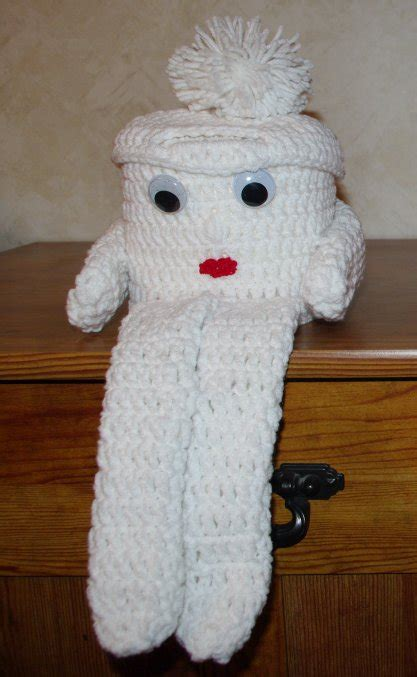 crochet toilet paper cover crochet  beginners
