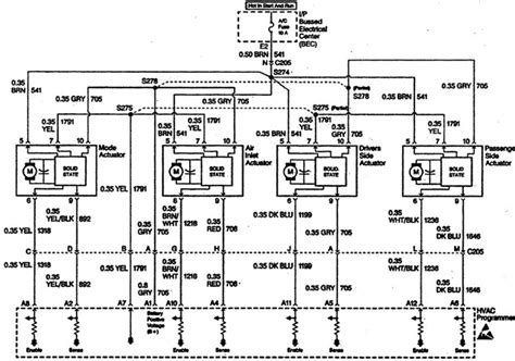 1995 Buick Park Avenue Wiring Diagram by I A 1997 Park Avenue It Would Appear That The Hvac
