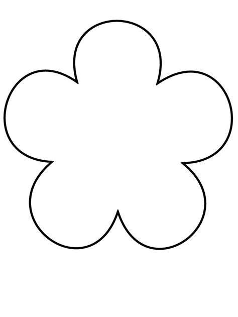 Burlap Flower Template by Flower Template Chrystal Sulak You Could Use This As A