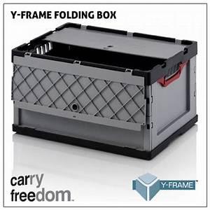 Klappbox Mit Deckel : carry freedom faltbox mit deckel f r y frame ~ Markanthonyermac.com Haus und Dekorationen
