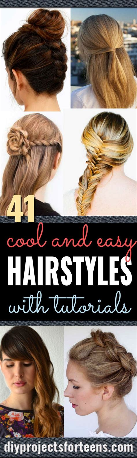 diy cool easy hairstyles  real people