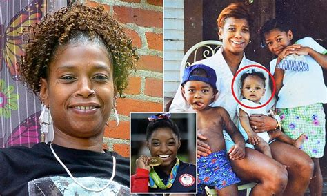 Simone Biles Biological Mom