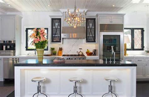 jeff lewis design kitchen black marble countertop contemporary kitchen jeff 4896