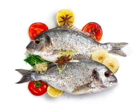 canapé cotta fresh dorado fish with vegetables and spices fudpix