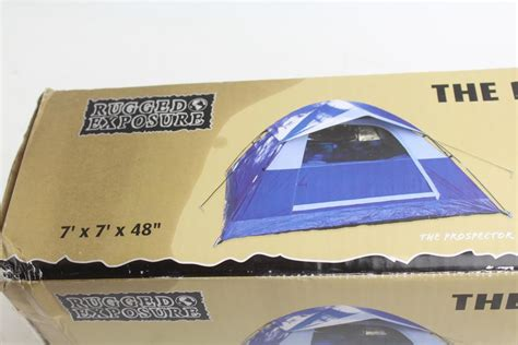 rugged exposure tent rugged exposure prospector 7ft x 7ft tent property room
