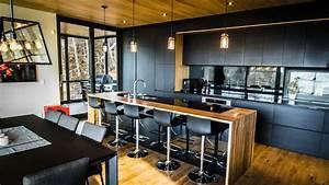 La Stokholm: Armoires de cuisine moderne Ateliers Jacob