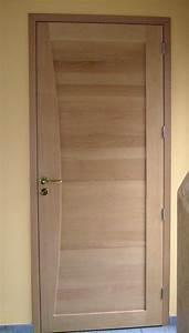 menuizea vente et pose de portes d39interieur en savoie 73 With porte de garage et porte interieur hetre massif