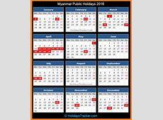 Myanmar Public Holidays 2016 – Holidays Tracker