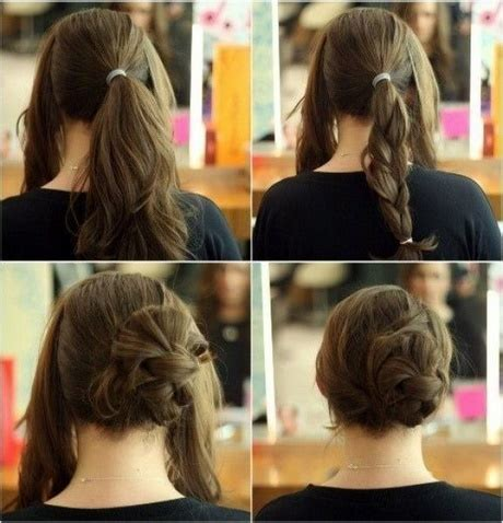 easy hairstyles for girls to do at home