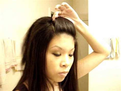 hair bump styles front poof hairstyle 4342