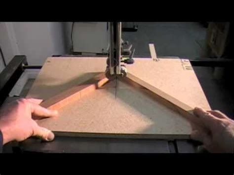 miter sled  band  woodworking   project  cutting small wood pieces safely youtube