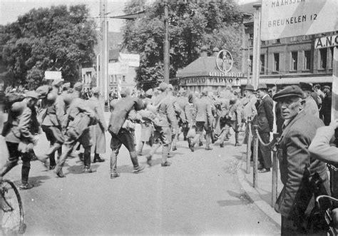 Verspuy Interieur by Den Haag Ss September 1940 Demobilisatie Het