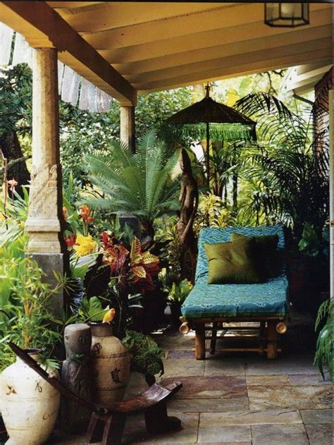 backyard bliss turn  yard   rainforest sanctuary