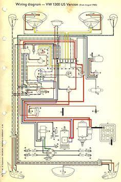 Wiring Diagram In Color 1964 Vw Bug Beetle Convertible The by Wiring Diagram In Color 1964 Vw Bug Beetle Convertible