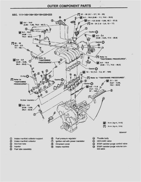 1999 Nissan Sentra Engine Schematic by 1998 98 Nissan Maxima Oem Service Repair Shop Manual Cd