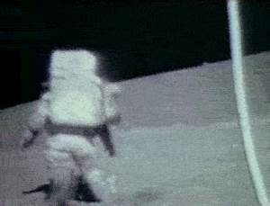 gif moon space nasa astronaut apollo 17 nasagifs •