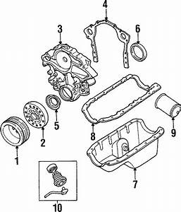 Ford Aerostar Engine Oil Pump  Liter  Pressure  Bearings