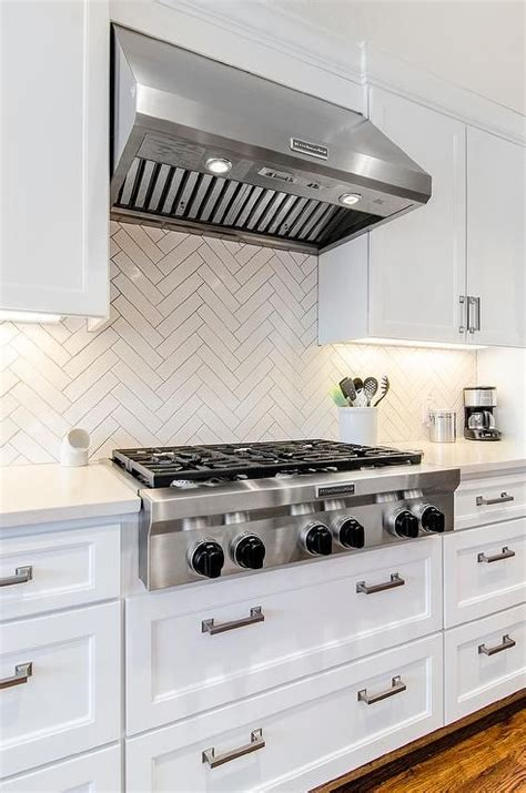 white shaker cabinets with quartz countertops chic white kitchen features white shaker cabinets paired