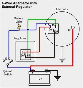 Nice Ford Alternator Wiring Diagram Internal Regulator External Regulator Alternator Wiring