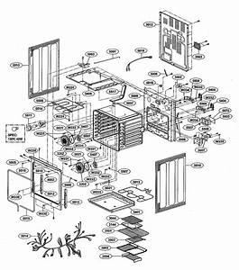 Lg Lre30757st  01 Electric Range Parts