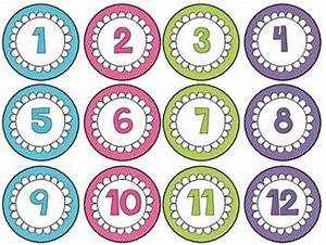 122 best images about number counting cards on pinterest With circle number labels