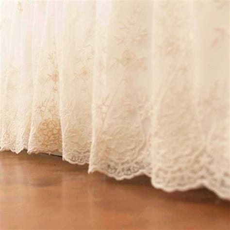 lovely kitchen furniture lace bed skirt