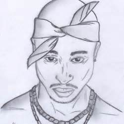 Tupac Pencil Drawings