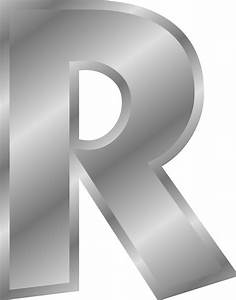 clipart effect letters alphabet silver With silver alphabet letters