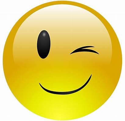 Smiley Emoji Transparent Sad Clipart Wink Sadness