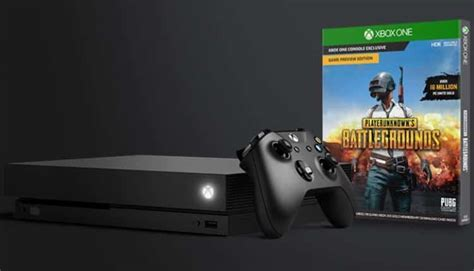 playerunknown s battlegrounds and xbox one x bundle
