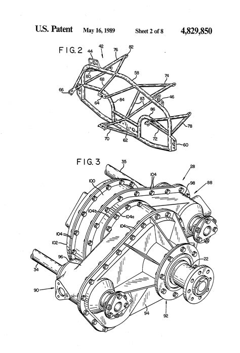 patent  multiple engine drive  single output shaft  combining gearbox therefor
