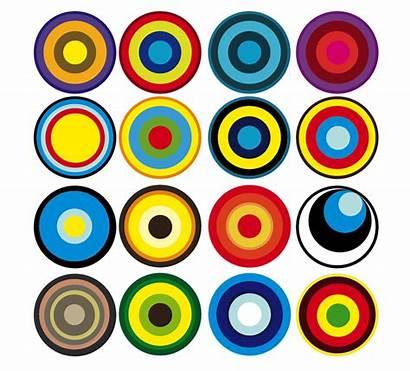 Circles Cirkels Kreise Bunte Colorful Circle Kleurrijke