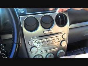 How To Mazda 6 Bose Radio Car Stereo Removal 2003 - 2005