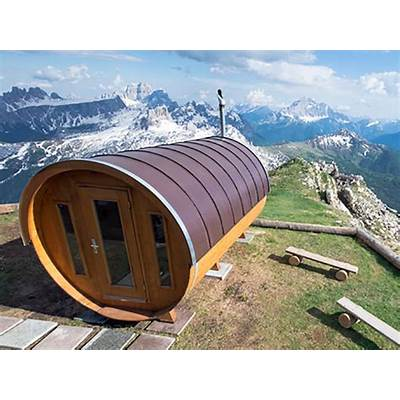 Sauna at Lagazuoi Mountain Hut - Official WEbsite of the