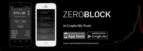 Don't pay capital whether or the worth on this. ZeroBlock Bitcoin App Now Available on Android Devices ...