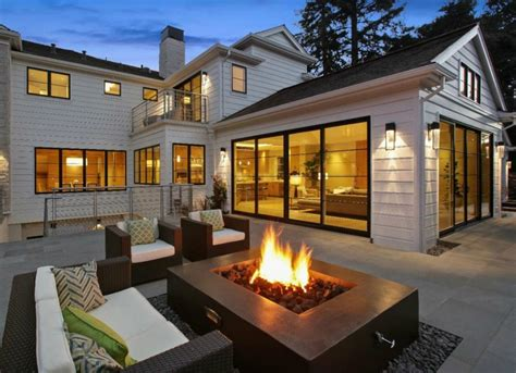 Backyard Fire Pit Designs  Outdoor Living Spaces 7