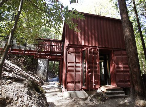 shipping container house dwell boxes jetson green six oaks container house in california Hightree