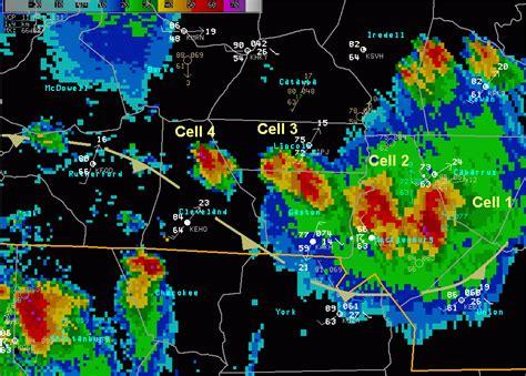 identify severe thunderstorms  radar