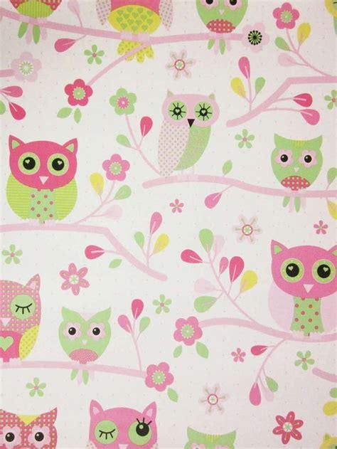 pink owl wallpaper gallery