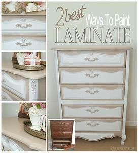 2 Best Ways To Paint Laminate Furniture - Salvaged