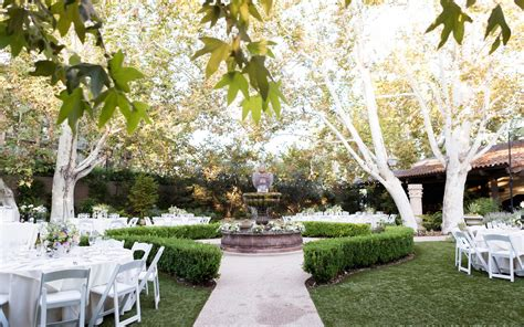 garden wedding venues los angeles outdoor wedding the