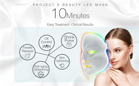 Amazon.com : Project E Beauty LED Face Mask Light Therapy