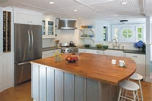 Kitchen Seating and Island Countertop Overhangs   Kitchen