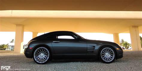 Custom Chrysler Crossfire photo 1 chrysler crossfire custom wheels niche citrine