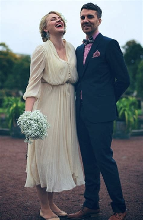 wedding dresses   rustic chic affair  huffpost